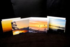 4 pk 5x7 #sunset #photographed #greetingcards  OccasionalNoteCards.etsy.com #etsy