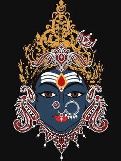 ramanandrMUMBAI, INDIA Saraswati Goddess, Kali Goddess, Goddess Art, Indian Goddess, Pichwai Paintings, Indian Art Paintings, Mural Painting, Hindu Rituals, Hindu Mantras