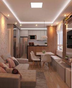 Small Living Room Design, Living Room Designs, Living Room Decor, Home Design Decor, House Design, Interior Design, Home Decor, Soft Grey Bedroom, Decoration