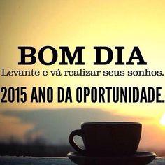 Bom dia 2015