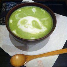 Panda green tea @Joshua Dean Martin