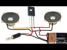 Amplifier circuit with Transistor Electronics Basics, Kids Electronics, Electronics Projects, Electronic Circuit Projects, Electronic Engineering, Electronic Gifts, Diy Tv Antenna, Electrical Schematic Symbols, Rules For Kids