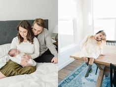 At-Home Newborn Session Family Pictures, Couple Photos, Family Picture Outfits, Newborn Session, Newborn Photographer, Babies, Photography, Beautiful, Home