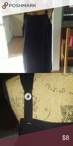 L long jumper Black Dresses Maxi