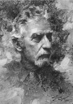 Casey Baugh - very interesting reading, at the link, about his technique for some of his artworks.