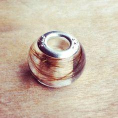 First Curl Bead 1 - The Milky Way Breastmilk Jewellery UK – Bespoke Breast Milk Jewellery Keepsakes – Beads, Charms, Pendants, Rings