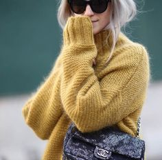 Pferdgarten knit love mustard sweater, sweater cardigan, sweater weather, a Capsule Wardrobe, Love Fashion, Winter Fashion, French Fashion, Winter Outfits, Casual Outfits, Cosy Outfit, Mustard Sweater, Business Outfit