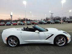 2014 Corvette Z51 Coupe C7 in White 1:18 Scale by Maisto