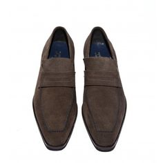 Anthracite Suede Jerry Loafer