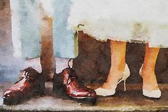Wedding style, painted in Waterlogue by Tinrocket.
