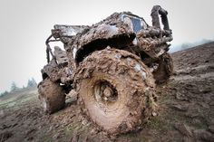 Be the driver not the rider.  If the mud ain't flyin, you ain't tryin!