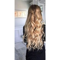 hair long hair curly hair short hair hairstyles braids messy bun ombre... ❤ liked on Polyvore