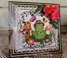 Chocolate Crafts and Bears, Oh My: CottageCutz Mr. Spring Peepers