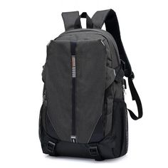 Quality Canvas School Bags for Teenage Girls Boys USB Large capacity Book Bag Men Backpack women Laptop Schoolbag travel male Outfit Accessories From Touchy Style Stylish Backpacks For College, Cool Backpacks For Men, Trendy Backpacks, Girl Backpacks, Canvas Backpacks, School Backpacks, High School Bags, Cute School Bags, Cheap School Bags