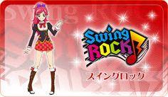 Kết quả hình ảnh cho aikatsu seira swing rock