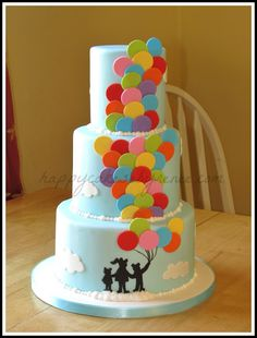 Happy Cakes Bakes: Balloon Cake!