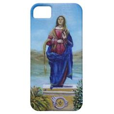 OUR LADY OF LIGHT iPhone 5 COVERS
