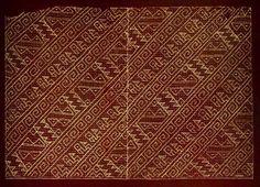 Museo Chileno de Arte Precolombino » Tejido reticular bordado