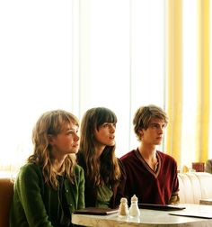 Carey Mulligan, Keira Knightley and Andrew Garfield in the 2010 film adaptation of Kazuo Ishiguro's Never Let Me Go, in which clones are produced to provide spare organs for their originals. Keira Knightley, Tom Hiddleton, Carey Mulligan, Andrew Garfield, James Mcavoy, Never Let Me Go, Let It Be, Cloud Atlas, London Film Festival