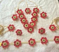 Beautiful artificial flower jewellery for your haldi , mehendi, sangeet or godh bharayi....for ordering call/whatsapp 9566063678 #anooflowerjewellery #mumbaiflowerjewellery #haldijewellery #mehendijewellery #sangeetflowerjewellery #artificialflowerjewellery #mumbaijewellery #mumbaiartificialflowers #floralornaments #mumbaifloralornaments #redflowerjewellery #fakeflowerjewellery #driedflowerjewellery #mumbaiartificialflowerjewellery #godhbharayiflowerjewellery