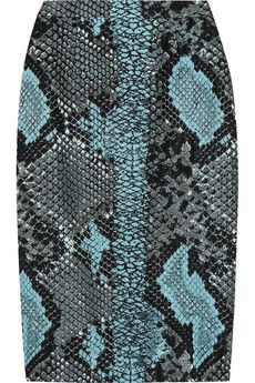The Jasmine Bangle https://2ndand47thboutique.kitsylane.com/ would pair nicely with any python print accessory or wardrobe staple, such as this Antonio Berardi Python-jacquard pencil skirt | NET-A-PORTER