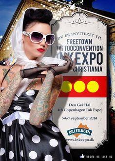 Tattoo & Ink: Freetown Tattoo Convention 2014