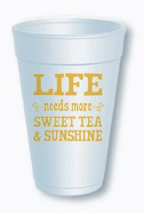 $7.99 for a sleeve of 10 cups #sweettea  Order at shop@jchristophertoys.com