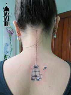#tattoo #bird #cage