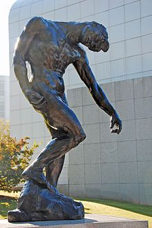 An Auguste Rodin sculpture piece called The Shade, donated to the High by the French government in memory of victims of a plane crash during a museum-sponsored trip in Paris, France. Auguste Rodin, High Museum, Art Museum, Modern Sculpture, Sculpture Art, French Sculptor, Photo Calendar, Magazine Art, Art Forms