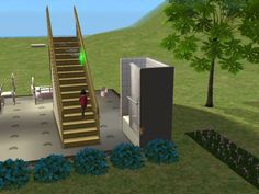 Mod The Sims - Mod to allow Toddlers To Use Stairs