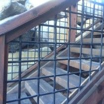 Wild Hog Brand Metal Deck Railing Installed On A Deck In