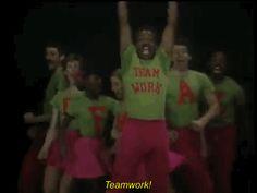 reaction 90s dance dancing 80s lol wow nostalgia dancer old school teamwork levar burton reading rainbow dream work #gif from #giphy