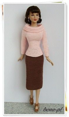 "Bena PL Clothes for DeeAnna Denton Curvaceous Body Dolls 16"" OOAK Outfit 
