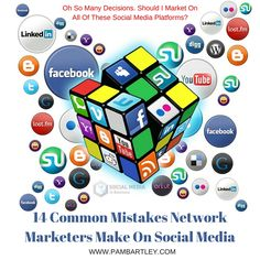 I want to help you understand the Mistakes Network Marketers Make On Social Media so you can correct anything you are doing wrong and make your business a s