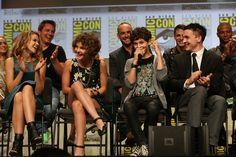 David Mazouz Erin Richards Photos: Warner Bros. At Comic-Con International 2014