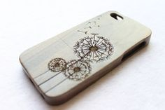 iphone 5 case iphone 5s case engraved wood iphone by KarlWorkShop, $25.00