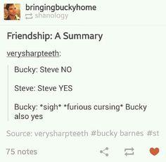 """Captain America (MCU) - Steve Rogers x Bucky Barnes - Stucky headcanon """"Bucky also yes"""" Steve Rogers Bucky Barnes, Bucky And Steve, Dc Movies, Marvel Movies, Marvel Actors, Marvel Funny, Marvel Avengers, Ms Marvel, Captain Marvel"""