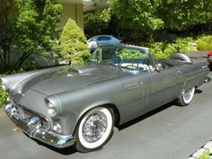 Ford : Thunderbird 1956 FORD THUNDERBIRD 312 4 BBL AUTO NUMBER MATCHING RARE COLOR | LegendaryFind