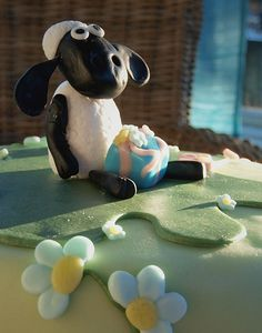 Sokerimuruja, Late Lammas -kakku. Shaun the Sheep Cake.