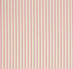 A simple multipurpose #fabric, Resort Ticking features classic pinstripes on 100% cotton. Featured here in #pink and #green from the Resort collection. #Thibaut