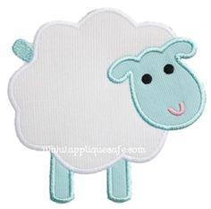 Sheep 2 Applique Design