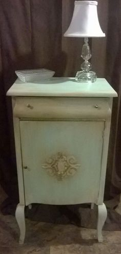 Antique Sheet Music Cabinet Stand