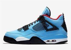 the latest f460a 2d45d Jordan 4 Shoes Off White Shoes, University Blue, Air Jordan Shoes, Cactus  Jack