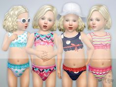 lillka's Toddler Bikini Set P01
