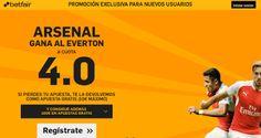 el forero jrvm y todos los bonos de deportes: betfair Arsenal gana Everton super cuota 4 Premier...