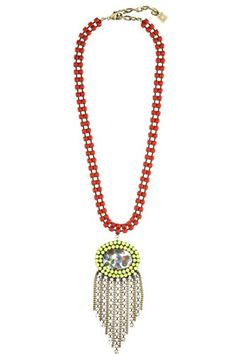 Stars In Your Eyes? No, That Twinkle Is Just Calypso's New Dannijo Collaboration #refinery29  http://www.refinery29.com/calypso-dannijo#slide-7  Calypso Loves Dannijo Elena Necklace, $450, available at Calypso St. Barth....