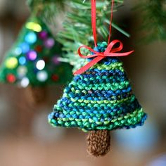 Merry Christmas! Your present this year is a little evergreen ornament! Hooray!