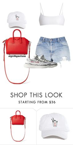 """""""#71"""" by bananbebe ❤ liked on Polyvore featuring Givenchy, adidas and Jade Swim"""
