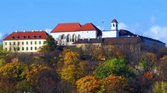 Špilberk castle in Brno (South Moravia), Czechia Star Fort, Historical Monuments, Europe Photos, Bratislava, Vacation Destinations, Czech Republic, Prague, Old Town, Budapest