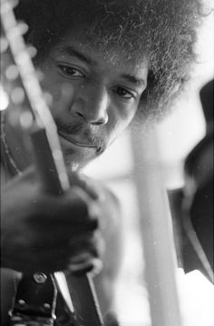 The very talented Jimmy Hendrix (Studio '69)